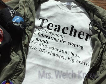 Teacher Defined Tee