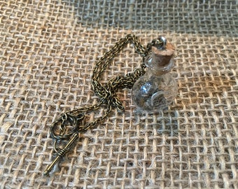 Steampunk Apothecary Necklace