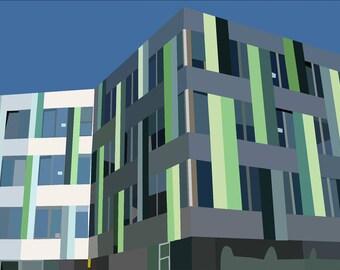 A3 PRINT Sheffield University Jessops