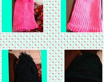 Fun hats, loom hats, crotchet hats, knitted hats