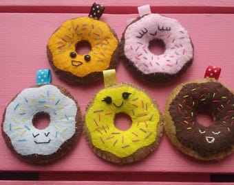 Doughnut Felt Cutie