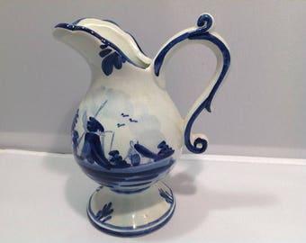 Vintage Delftware jug
