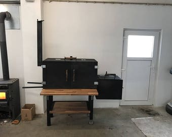 Smoker, BBQ, BBQsmoker, Grill, Räuchern,