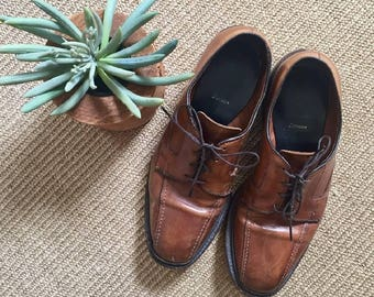 Allen Edmonds Brown Leather Oxford s