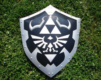 TEMPLATE for the Hylian shield from The legend of Zelda: Ocarina of time prop for Link cosplay prop