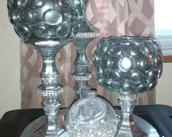 3 pc set Candle holders