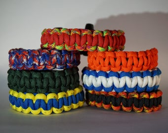 Cobra Knot Paracord Bracelet