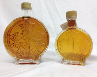 Pure New York Maple Syrup Medallion Bottle