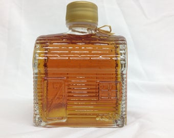 Pure New York Maple Syrup in Log Cabin Bottle