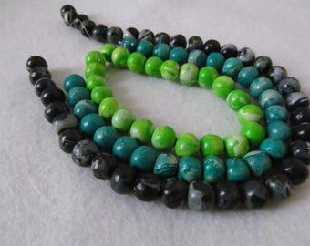 Three strands Pearl beadworks