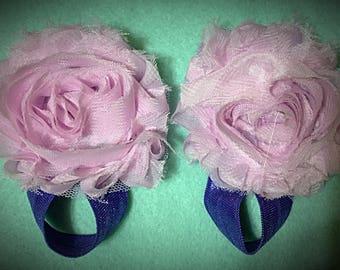 Baby Girl Barefoot Sandals