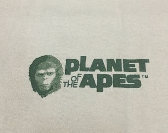 RARE!! Vintage 90s Planet of The Apes Tshirt Bape Bathing Ape