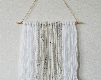 Modern Yarn Wall Hanging - Nursery - Home