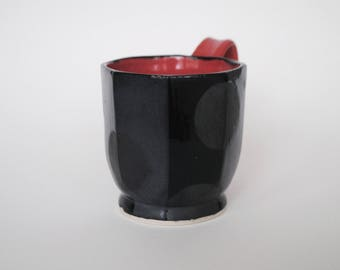 Faceted Dot Mug