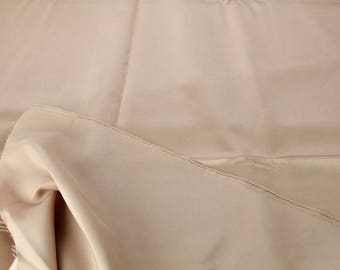 Bridal Satin, Champagne with a Dash of Pink, Fabric #1065