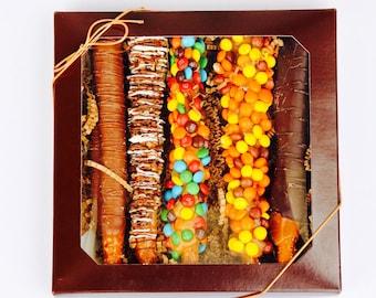Pretzel Caramael Chocolate Sticks Gift Box