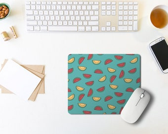Print Mouse Pad / Fruit Mouse Pad / Quote Mousepad / Office Decor / Mouse Pad Quote / Office Desk / Rectangle Mouse Pad / Coworker Gift
