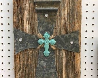 Barn tin Cross