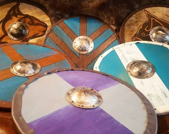 Custom 11 inch viking shield