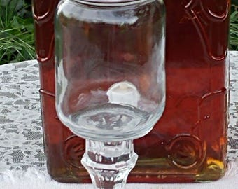 Mason Jar Wine Glass (set of two)