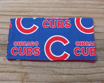 Chicago Cubs Check Book Cover