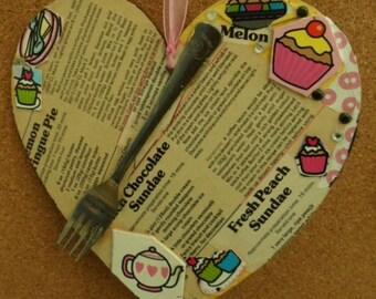 Large Wooden Heart Kitchen Recipe