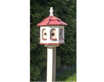 Bird House - Poly  Amish made  Gazebo Birdhouse