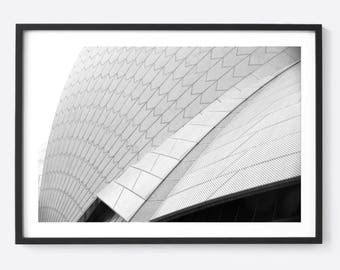 The Sydney Curve / Professionally Framed Photography Art Piece / For Interior Decor / Free shipping