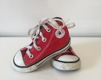 Vintage Converse Red Chucks