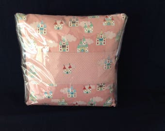 "Princess Castle cushion 16""x16"""