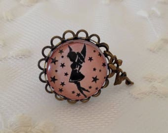 Cameo ring fairy pink.