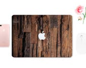 Wooden Texture Skin Laptop Cover Mac Pro Retina 13 Skin MacBook Pro 15 2016 Decal Brown Air 11 MacBook Case Wood Mac Book Air ESD007