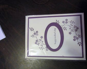 Happy Mothers Day Hand Made Card