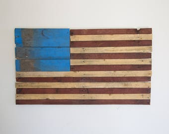 Pallet Art American Flag