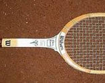 Vintage Chris Evert Wilson Professional Champ Wooden Tennis Racquet