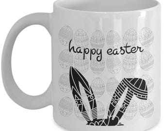 Happy Easter day, Easter coffee mugs, easter gifts, easter gifts for women, easter gift ideas, Easter Ceramic mug