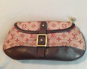 Vintage Cherry Canvas mini Louis Vuitton Pouch