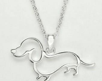 "The Chevy--Dachshund Love ""Wearable Weiner"" Necklace"