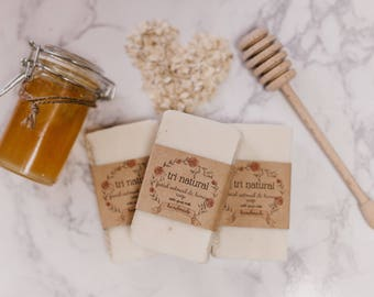 Facial Oatmeal & Honey Soap
