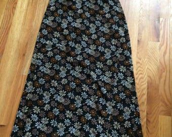Floral Skirt, Vintage