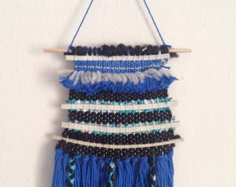 Mixed Fibers Wall Hanging