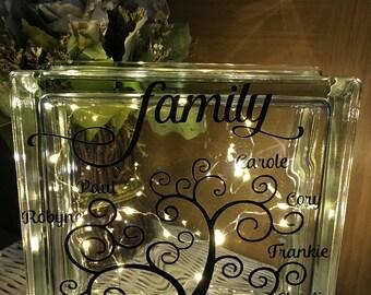 Family glass light block