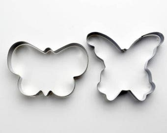 2pcs/Set Butterflies Cookie Cutter- Fondant Biscuit Mold - Pastry Baking Tool Set
