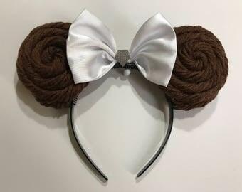 Princess Leia Mickey Ears