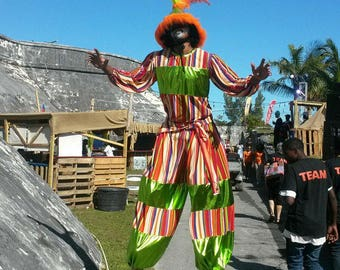 Custom Stilt Costume