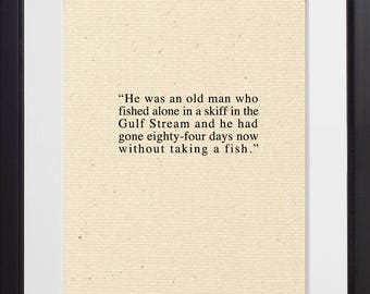 Old Man and the Sea Quote