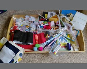 KIDS CRAFT Bundle - huge & varied collection of bits n bobs -EYFS/Childminder