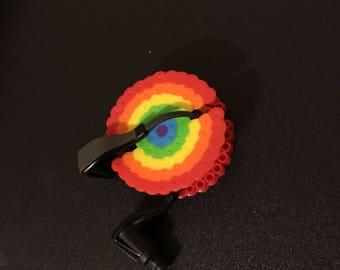 Rainbow Earbud Holder