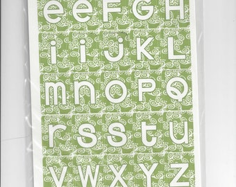 Three Bugs in a Rug ~ Luke & Lola Alphabet Die Cuts ~ Non-Adhesive ~ NIP