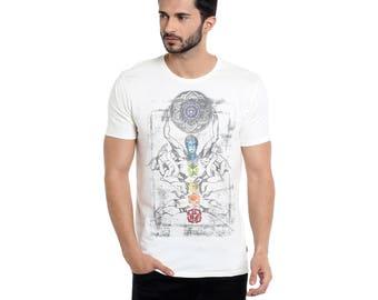Vaishvik Seven Chakras t shirt ancient India